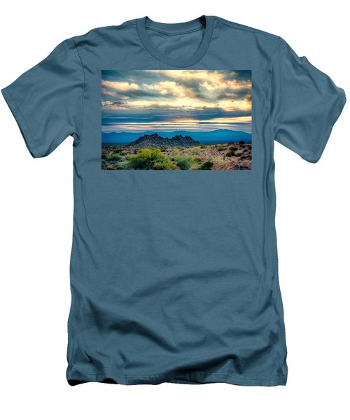 Morning Desert Glow Men's T-Shirt (Athletic Fit)