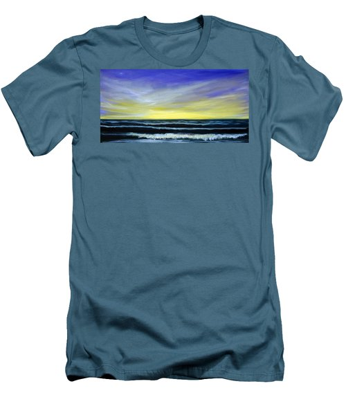 Morning Star And The Sea Oceanscape Men's T-Shirt (Athletic Fit)