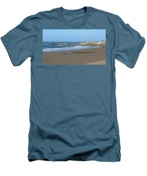 Moroccan Fishing Village Men's T-Shirt (Athletic Fit)