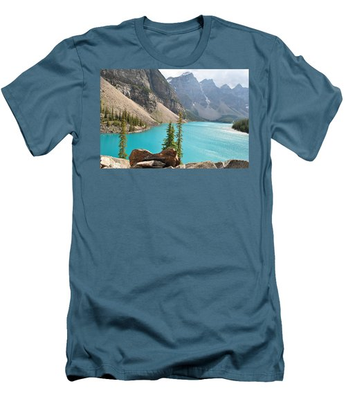 Morraine Lake Men's T-Shirt (Athletic Fit)