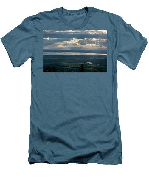 Mount Susitna Men's T-Shirt (Athletic Fit)