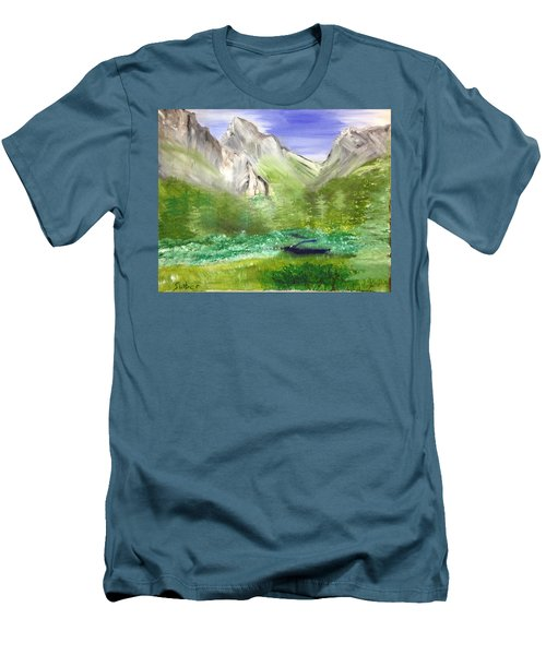 Mountain Day Men's T-Shirt (Athletic Fit)