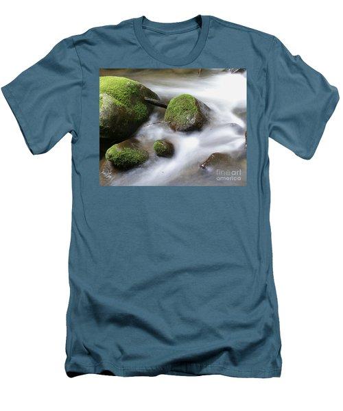 Mountain River Men's T-Shirt (Athletic Fit)