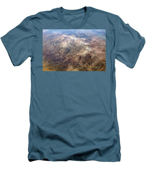 Men's T-Shirt (Slim Fit) featuring the photograph Mountain View by Mark Greenberg
