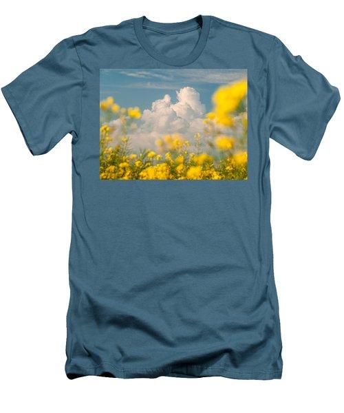 Mt Cloud Men's T-Shirt (Athletic Fit)