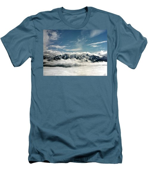 Men's T-Shirt (Slim Fit) featuring the photograph Mt Olympus by Greg Reed