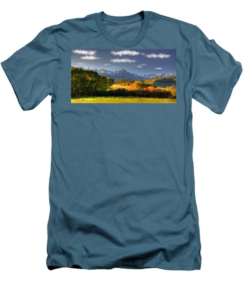 Mt Sneffels And The Dallas Divide Men's T-Shirt (Athletic Fit)