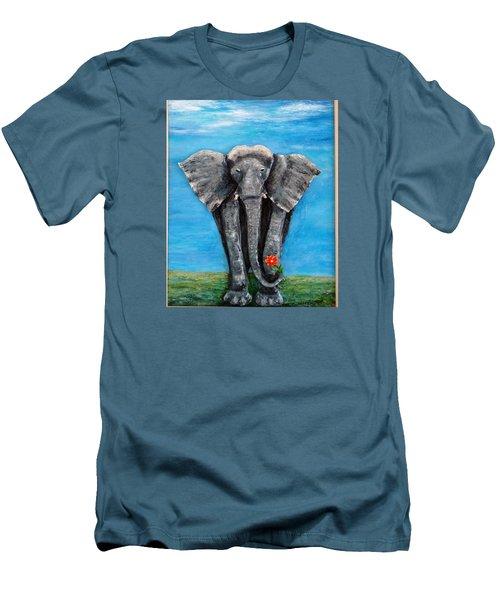 My Big Friend Men's T-Shirt (Athletic Fit)