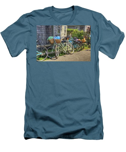 Nantucket Bikes Men's T-Shirt (Athletic Fit)