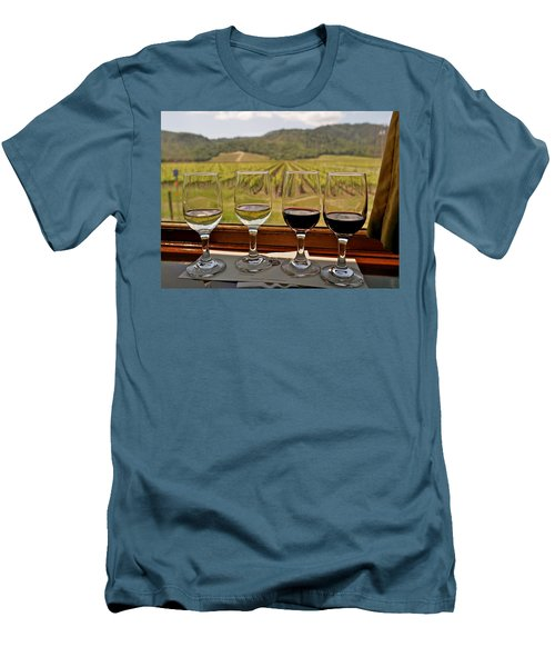 Napa Valley Wine Train Delights Men's T-Shirt (Athletic Fit)