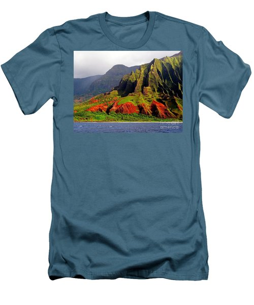 Napali Coast II Men's T-Shirt (Athletic Fit)