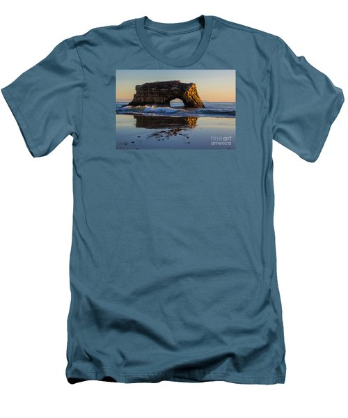 Natural Bridge Men's T-Shirt (Athletic Fit)