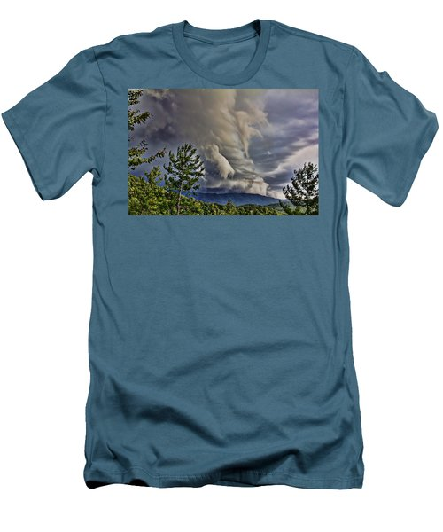 Nature Showing Off Men's T-Shirt (Slim Fit) by Tom Culver