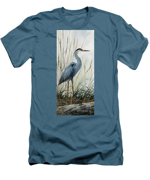 Natures Gentle Stillness Men's T-Shirt (Slim Fit) by James Williamson