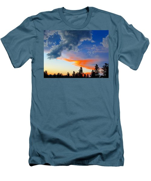 Men's T-Shirt (Slim Fit) featuring the photograph Nature's Palette by Barbara Chichester