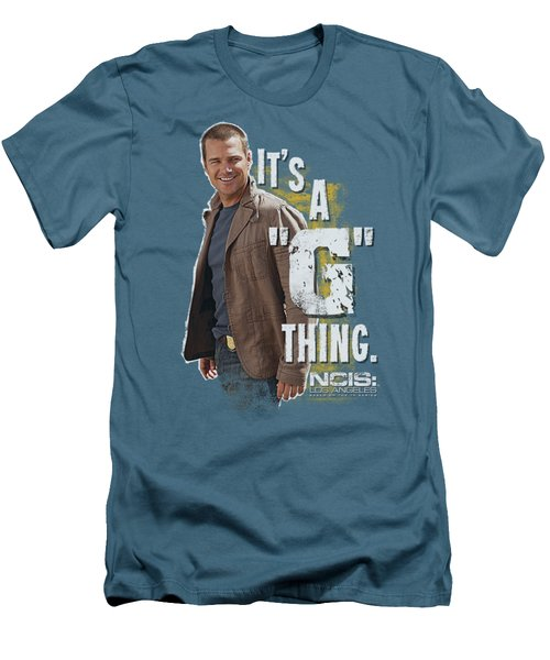 Ncis La - G Thing Men's T-Shirt (Athletic Fit)