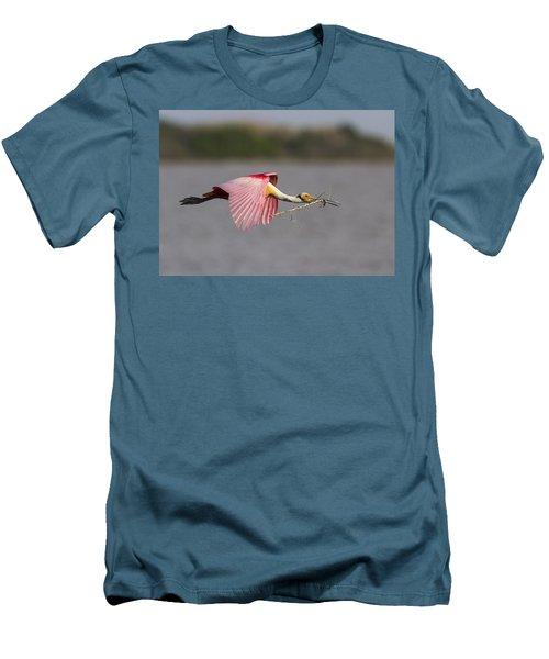Nest Material Men's T-Shirt (Slim Fit) by Doug Lloyd