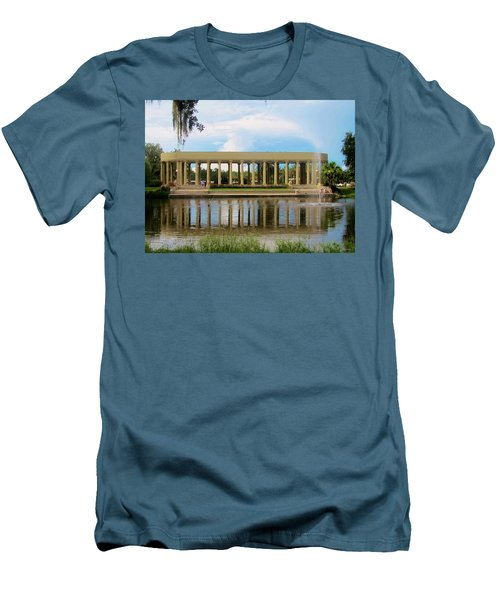 New Orleans City Park - Peristyle Men's T-Shirt (Athletic Fit)