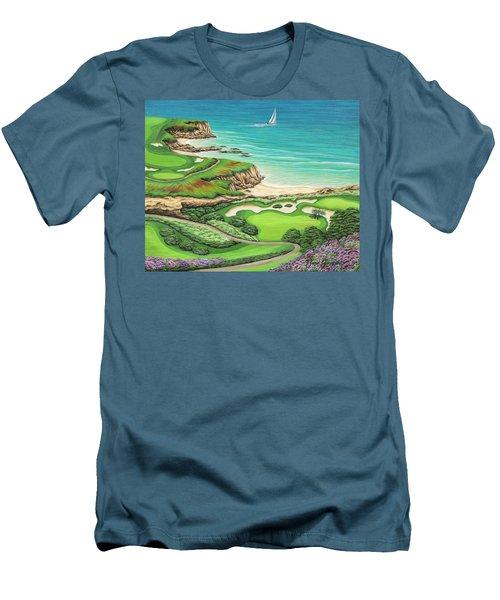 Newport Coast Men's T-Shirt (Athletic Fit)