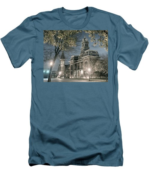 Night Court Men's T-Shirt (Slim Fit) by William Beuther