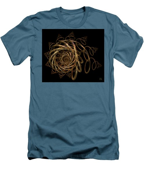 Men's T-Shirt (Slim Fit) featuring the digital art Nightfall by Manny Lorenzo