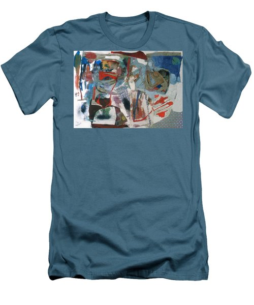 No 3 In A Series Of Assemblages Men's T-Shirt (Athletic Fit)