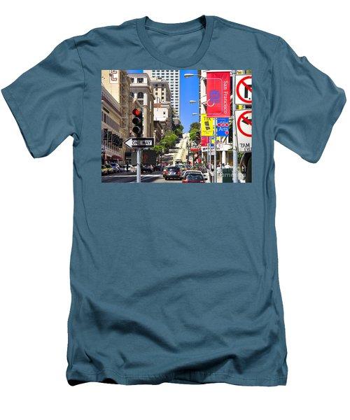 Nob Hill - San Francisco Men's T-Shirt (Athletic Fit)