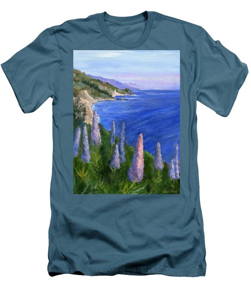 Northern California Cliffs Men's T-Shirt (Athletic Fit)