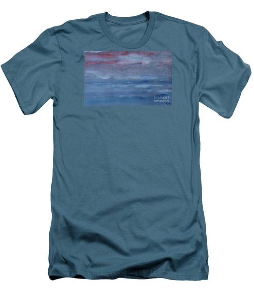 Men's T-Shirt (Slim Fit) featuring the photograph Northern Evening by Susan  Dimitrakopoulos