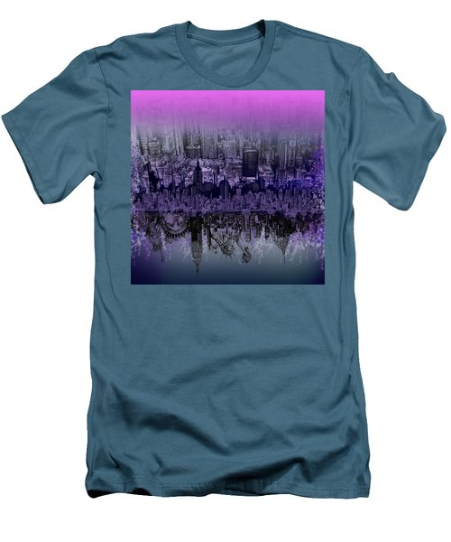 Nyc Tribute Skyline Men's T-Shirt (Athletic Fit)