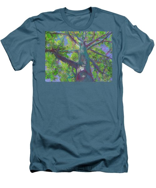Oak Tree 1 Men's T-Shirt (Athletic Fit)
