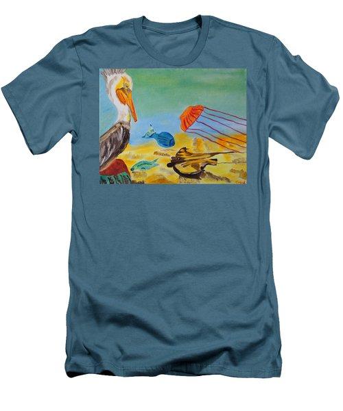 Observing Options Men's T-Shirt (Slim Fit) by Meryl Goudey