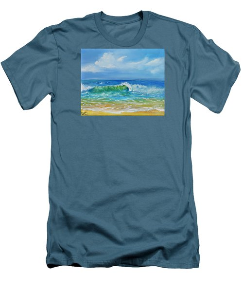 Oceanscape Men's T-Shirt (Athletic Fit)