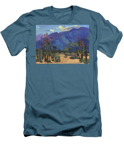 Ocotillos At Smoke Tree Ranch Men's T-Shirt (Athletic Fit)