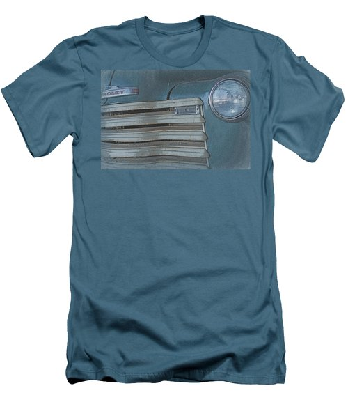 Men's T-Shirt (Slim Fit) featuring the photograph Old Blue by Lynn Sprowl