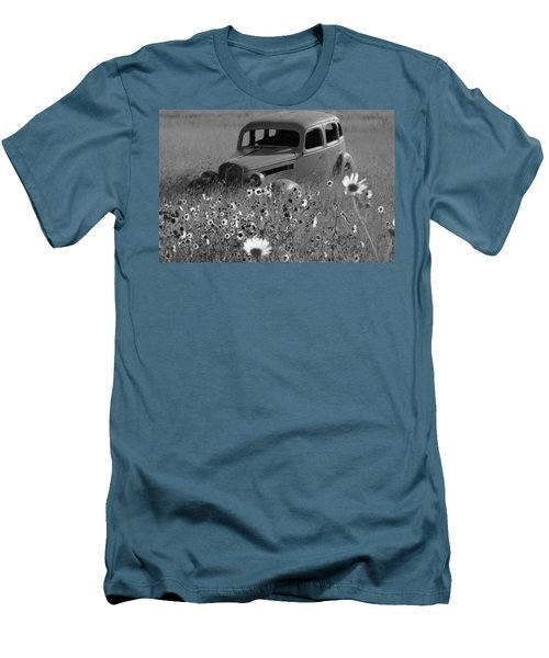 Men's T-Shirt (Slim Fit) featuring the photograph Old Car by Leticia Latocki