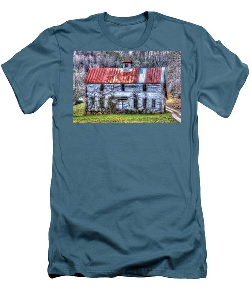 Old Country Schoolhouse Men's T-Shirt (Athletic Fit)