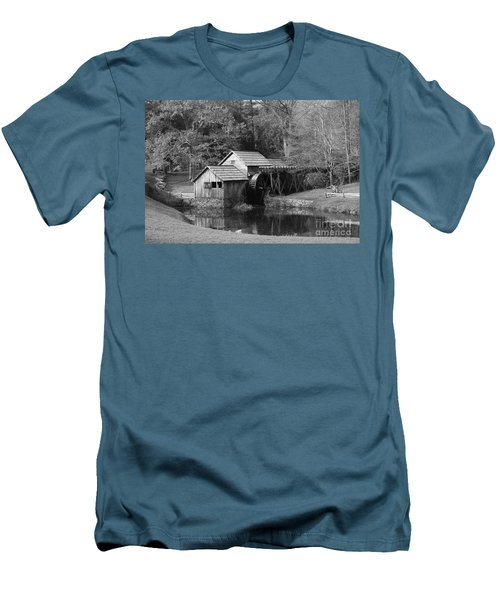 Men's T-Shirt (Slim Fit) featuring the photograph Virginia's Old Mill by Eric Liller