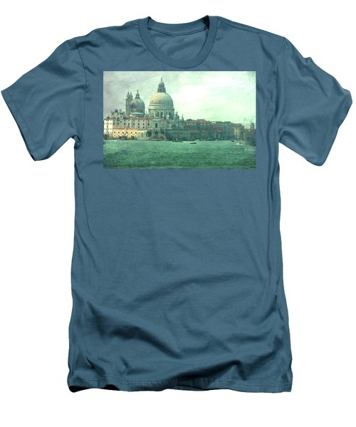 Men's T-Shirt (Slim Fit) featuring the photograph Old Venice by Brian Reaves