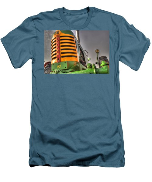 Oliver Tractor Men's T-Shirt (Slim Fit) by Michael Eingle