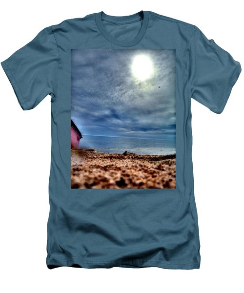 On The Beach Men's T-Shirt (Athletic Fit)