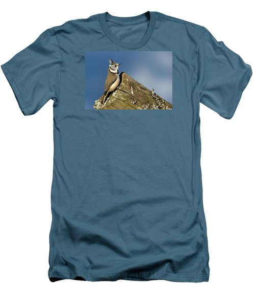 On The Edge Men's T-Shirt (Slim Fit) by Torbjorn Swenelius