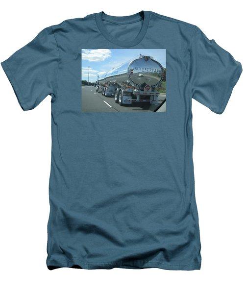 On The Way Men's T-Shirt (Slim Fit) by Jieming Wang