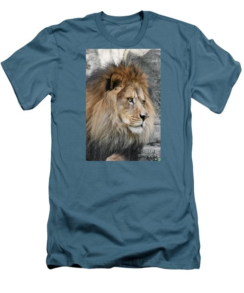 Men's T-Shirt (Slim Fit) featuring the photograph Onyo #13 by Judy Whitton