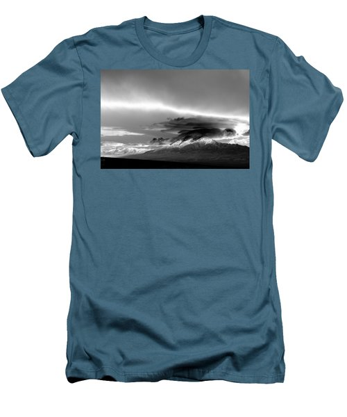 Men's T-Shirt (Slim Fit) featuring the photograph Oquirrh Range Utah by Ron White