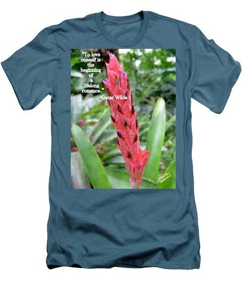 Oscar Wilde Men's T-Shirt (Athletic Fit)