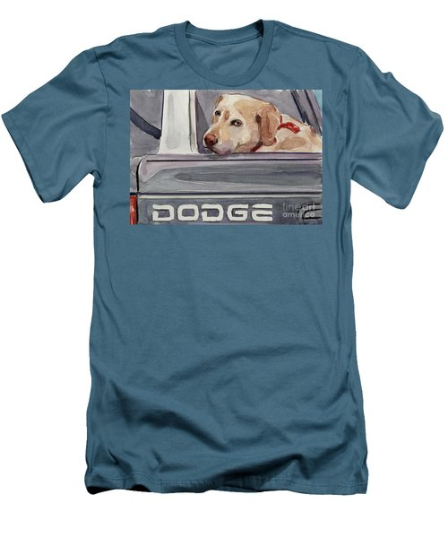 Out Of Dodge Men's T-Shirt (Slim Fit) by Molly Poole