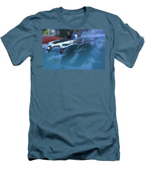 Men's T-Shirt (Slim Fit) featuring the photograph Out Of The Metal by Laurie Perry