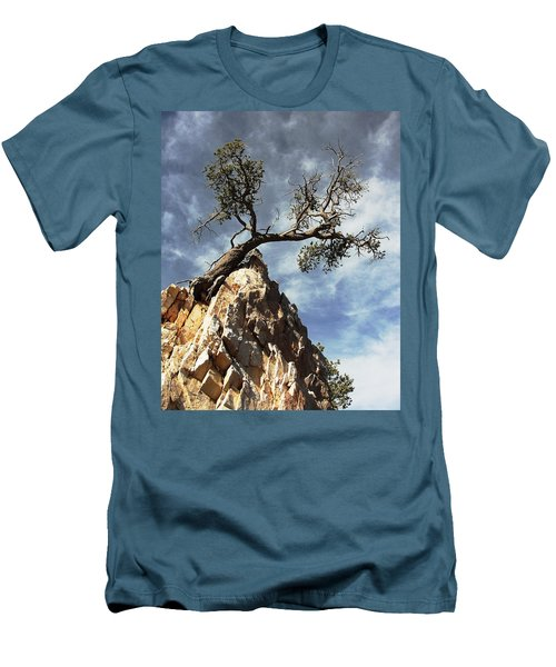 Men's T-Shirt (Slim Fit) featuring the photograph Hung Over by Natalie Ortiz