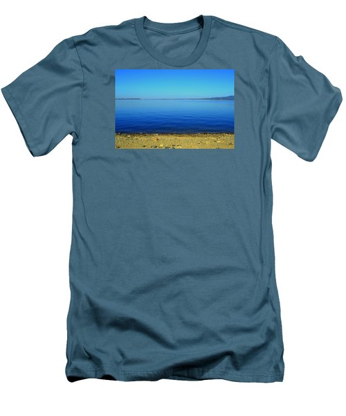 Men's T-Shirt (Slim Fit) featuring the photograph Overflow by Rima Biswas